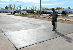 Methods Of Curing Concrete And Curing Periods