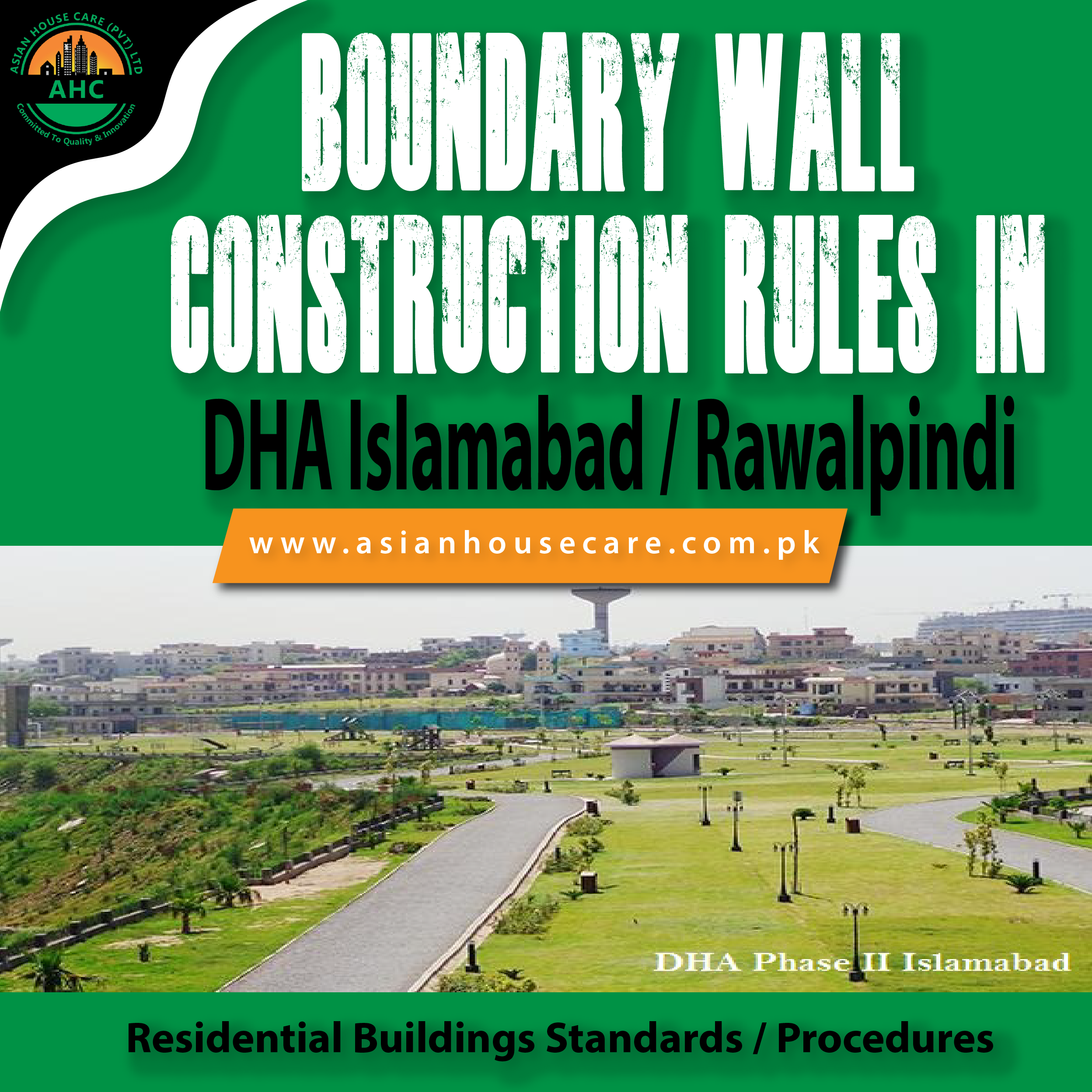 Boundary Wall Construction Rules in DHA